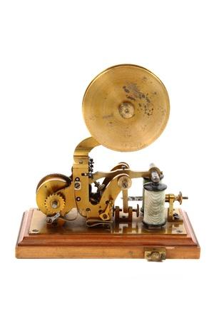 telegraaf: oude telegraaf ge Stockfoto