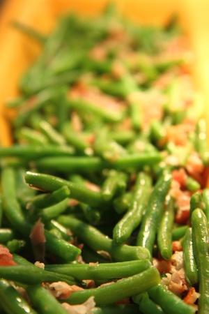 nice food: Grean бобы как очень хорошую еду фоне