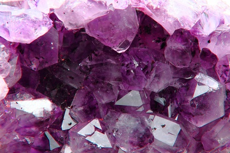 nice violet amethyst background from my mineral collection photo