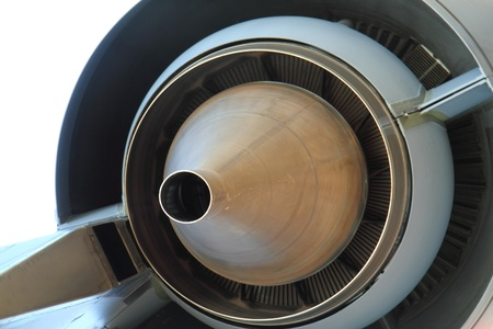 rapidity: aircraft turbine as very nice technology background