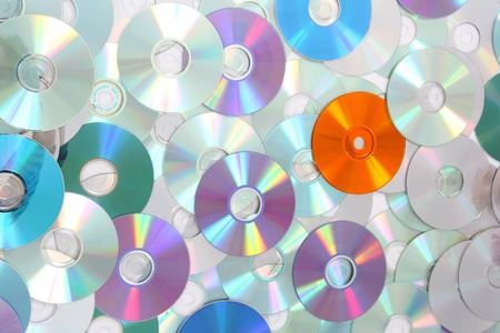cd rw: CD and DVD background in the different colors