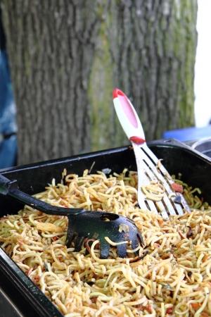 nice food: Китай лапша как очень хороший фон пищевой Фото со стока