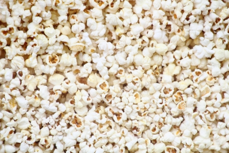 nice food: соленый попкорн как очень приятный фон пищевой Фото со стока