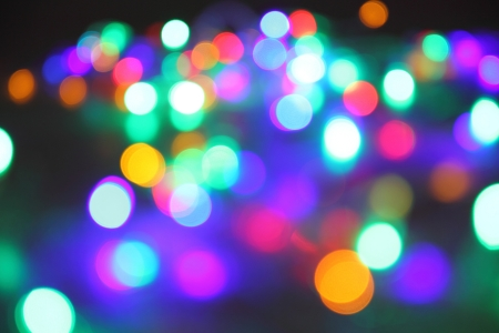 christmas lights: christmas lights as nice color holiday background