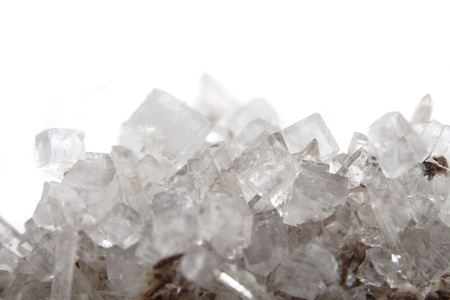 salt as very nice natural mineral background photo