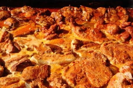 nice food: мясо на гриле, как очень хороший фон пищевой