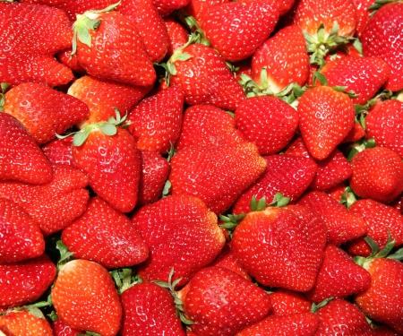 nice food: fresh red strawberries as very nice food  background