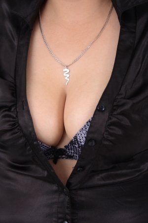 nice breast: sexy part of woman - nice breast background