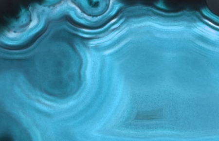 blue agate gem background  macro, detail  as mineral texture Standard-Bild