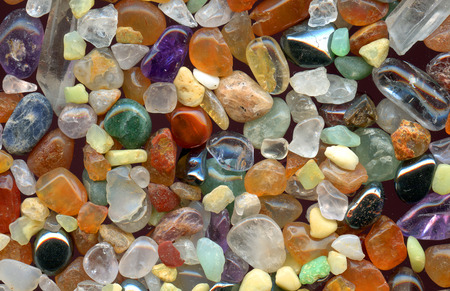 mineralogy: color gemstones texture as nice natural
