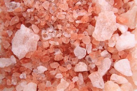 himalayn salt: himalayan salt texture as nice natural mineral