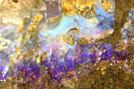 detail of mineral opal texture as natural background photo
