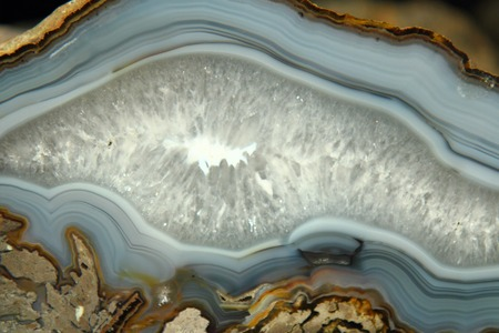 detail of mineral agate texture as natural background photo