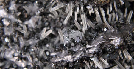 oscillations: crystals background  natural lead texture from nature