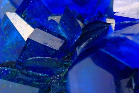 blue vitriol mineral as very nice background photo