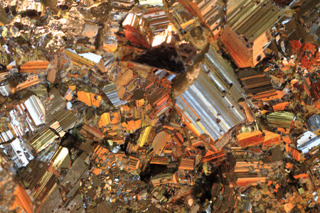 sulfide: chalcopyrite texture as very nice mineral natural background