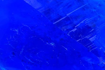 blue vitriol mineral as nice mineral background photo