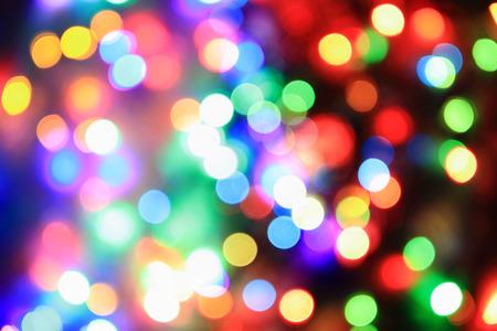 red christmas lights: color christmas lights as very nice holiday background