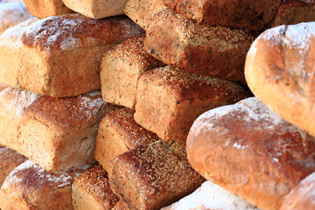 alimentacion natural: pan checo fresca como fondo alimento natural