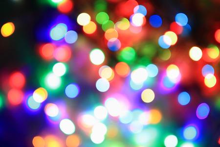 color christmas lights as very nice holiday background