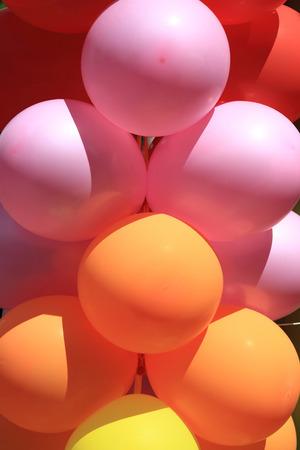 ballons: color ballons as very nice celebration background Stock Photo