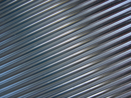 stainless steel sheet: steel texture as very easy metal background Stock Photo