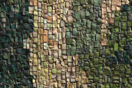 small stones: small stones mosaic texture as nice color background Stock Photo