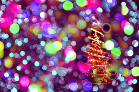 color christmas lights texture as nice holiday background stock photo 46807961