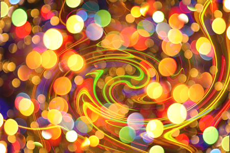 xmas background: christmas background from the nice color xmas lights