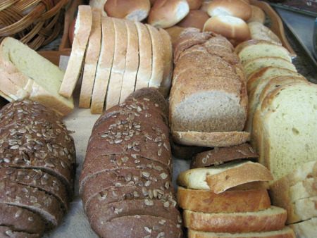 nice food: bulgarian bread as very nice food background