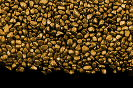 goldmine: golden stones texture as very nice background