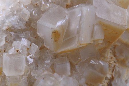 calcite: white calcite mineral as nice natural background