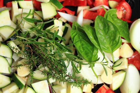 nice food: растительное готовят гриль под открытым небом, как приятный фон еды