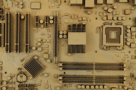 computer motherboard texture as very nice technology background