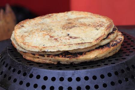 pancake week: salted pancakes as very easy gourmet meal