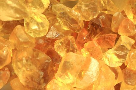 天然鉱物の背景に黄色のシトリン テクスチャ