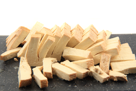nice food: soya tofu cheese as nice food background Фото со стока