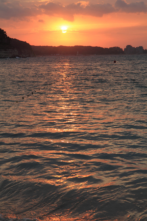 bulgarian: nice bulgarian sea (sunset in the Kitten)