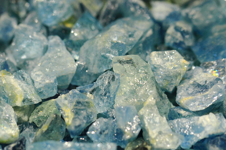 chalcedony: blue aquamarine mineral as very nice natural background