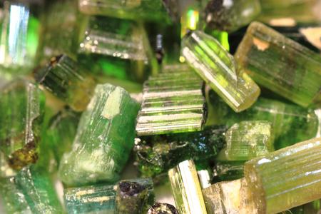 gemological: green verdelite mineral texture as nice natural background