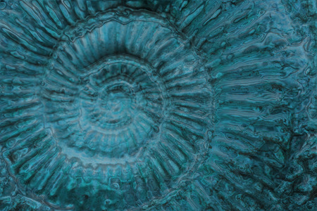 blue spiral: blue spiral texture as nice blue abstract background Stock Photo
