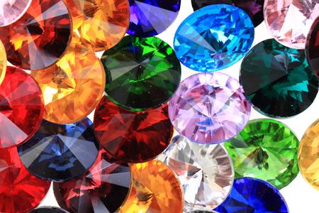 couleur verre de diamants Banque d'images