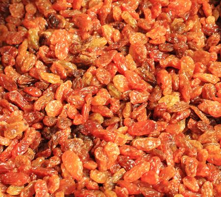nice food: raisins (dried grapes) texture as nice food background
