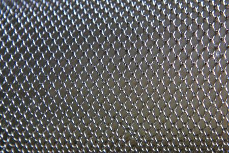 metal grid: steel grid texture as nice metal background