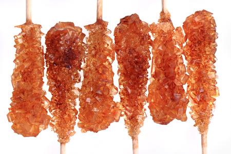 nice food: brown sugar crystals texture as nice food background Фото со стока