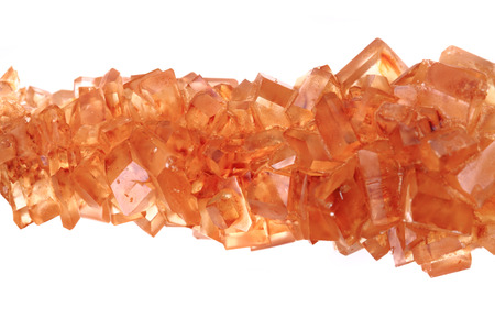 brown sugar crystals texture as nice food background Stock Photo