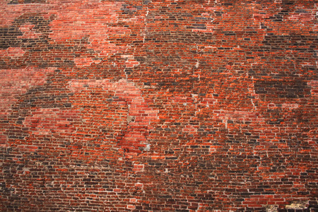 old wall texture from the red bricks
