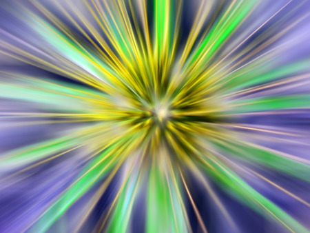 abstract explosion backround generated by the computer Stock Photo