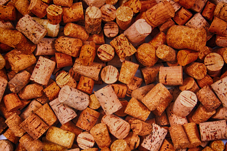 very nice cork background from the cpas from wine bottles Stock Photo