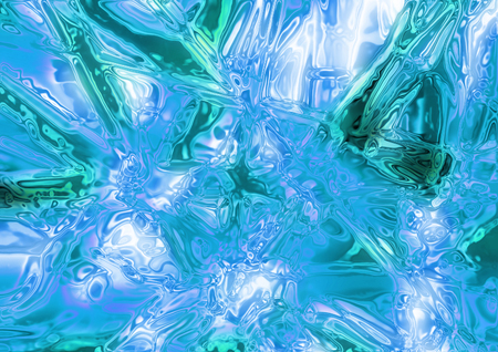 nice ice background generated by the computer  Stock Photo